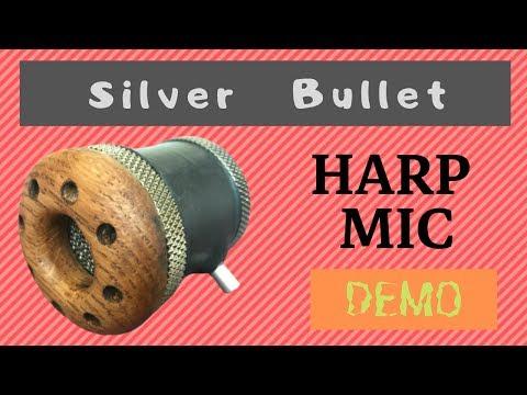 Silverfish 'Silver Bullet' Harmonica Microphone Demo