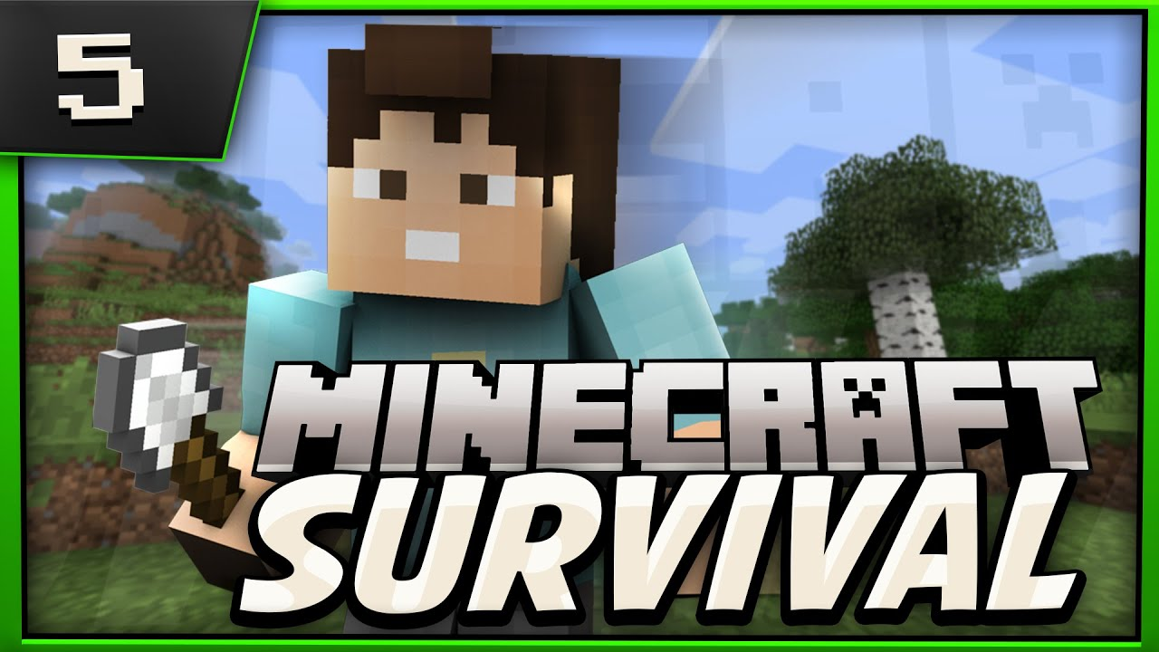 Minecraft Survival Lets Play Ep5 Moving Out YouTube