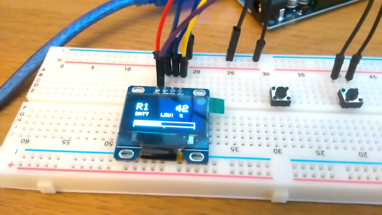Arduino oled gauge for classic mini youtube