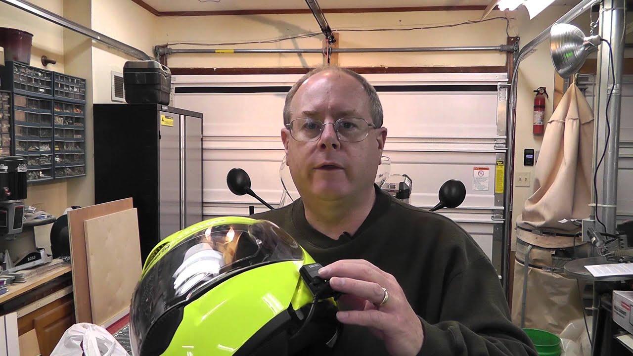 Motorcycle Helmet Intercom Youtube