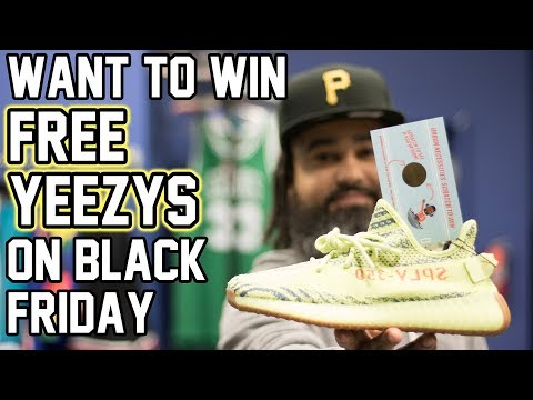 "UNBOXING FROZEN YELLOW YEEZY'S + TONS OF PE""S!!!!! (GIVING AWAY 25 YEEZY'S BLK FRIDAY!!!!!!!)"