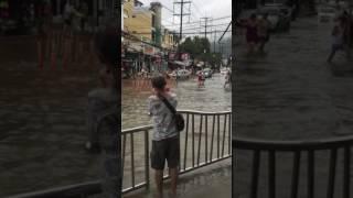 Тропические ливни в Тайланде! Это экстрим зато весело