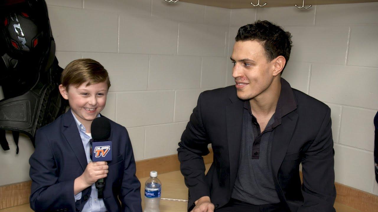 KID REPORTER   1-on-1 with Caleb Jones