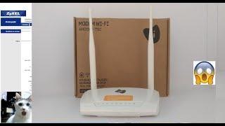 Como configurar o Modem wifi - ZyXEL Amg1302- t15c 2018.