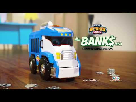 Mr. Banks Toy Commercial | Real Workin' Buddies | JAKKS Pacific