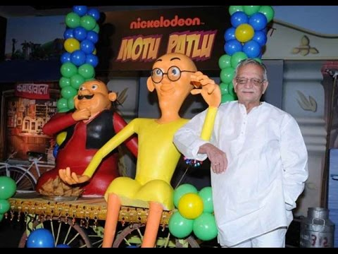 Gulzar Is Very Excited For Animated Movie...