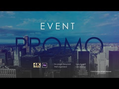 Event Promo | After Effects Template | Event Promo