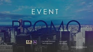 Event Promo | After Effects template
