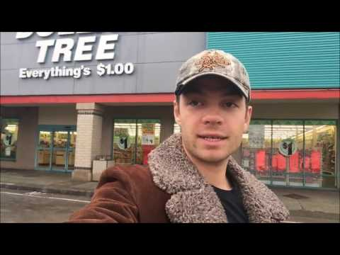 The Mega Dollar Store Prepping Shopping Spree Challenge! Part 1