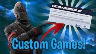 CUSTOM GAMES ALLE KÖNNEN MITMACHEN | 4K ? |CREATOR CODE :ZUQT01| Fortnite Abozocken