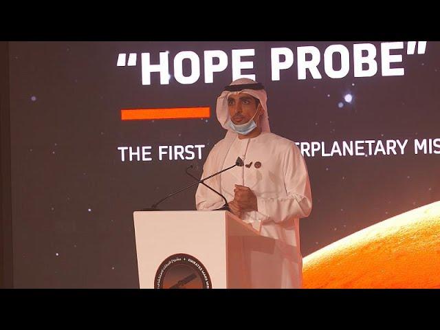 Emiratos Árabes llega al espacio con su sonda 'Hope' que orbitará Marte en Febrero de 2021