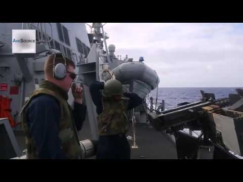 United States Naval Power! Navy Destroyer Squadron 15 Demonstration