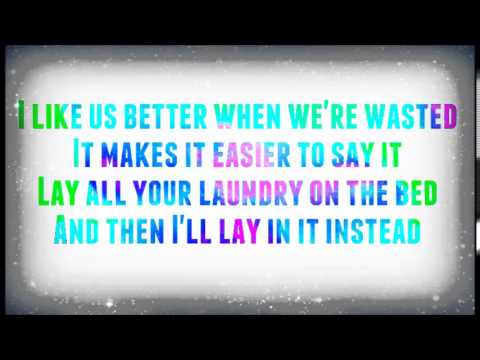 Tiesto feat. Matthew Koma-Wasted Lyric Video