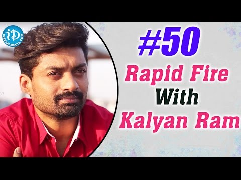 #50WithVrinda || Rapid Fire With Kalyan Ram || Talking Movies with iDream