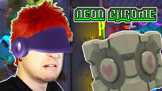 First Look at Neon Chrome ✪ ALIEN SWARM vs ROGUELIKE