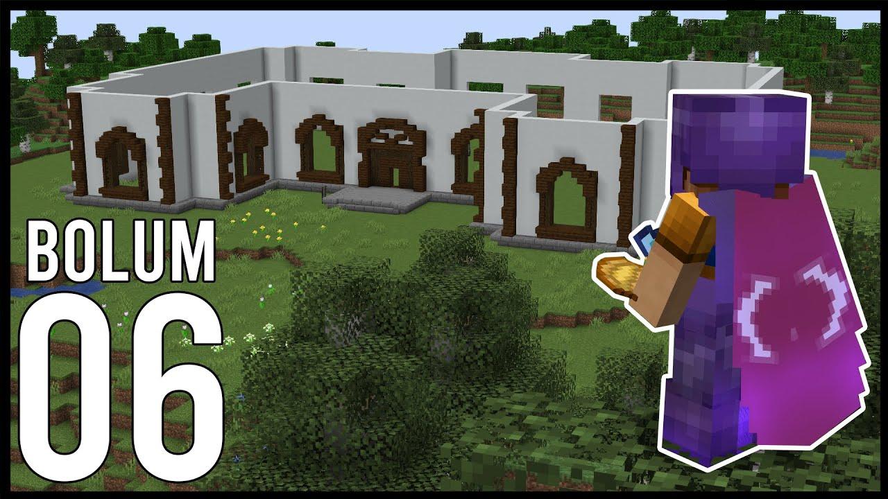 MALİKANEYE BAŞLIYORUZ! | Minecraft: Modsuz Survival | S6 Bölüm 06