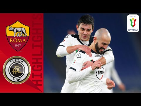 AS Roma Spezia Goals And Highlights