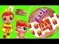 McDonald's Custom LOL Big and Lil' Sister Dolls with Happy Meal Surprises