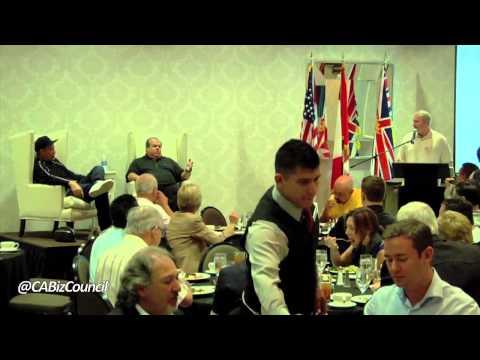 Canada California Business Summit, Bruce McNall , Nick Cassavetes