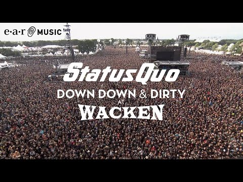 "Status Quo ""In The Army Now"" (Live at Wacken 2017) - from ""Down Down & Dirty At Wacken"""