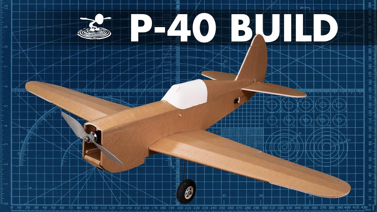 Flite Test P40 Electric Airplane Kit (1066mm)