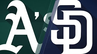 A's smash 5 jacks in 12-4 rout of Padres: 6/20/18
