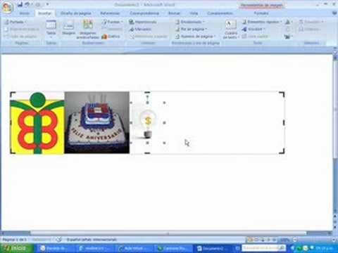 Easy -- create a banner with Word - YouTube