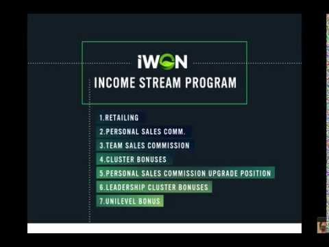 iWON INCORPORATED COMPENSATION PLAN (UPDATED)