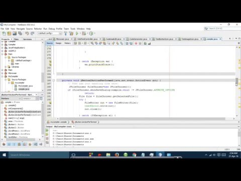 How To Make A C/C++ IDE To Run Programs By Java GUI Netbeans