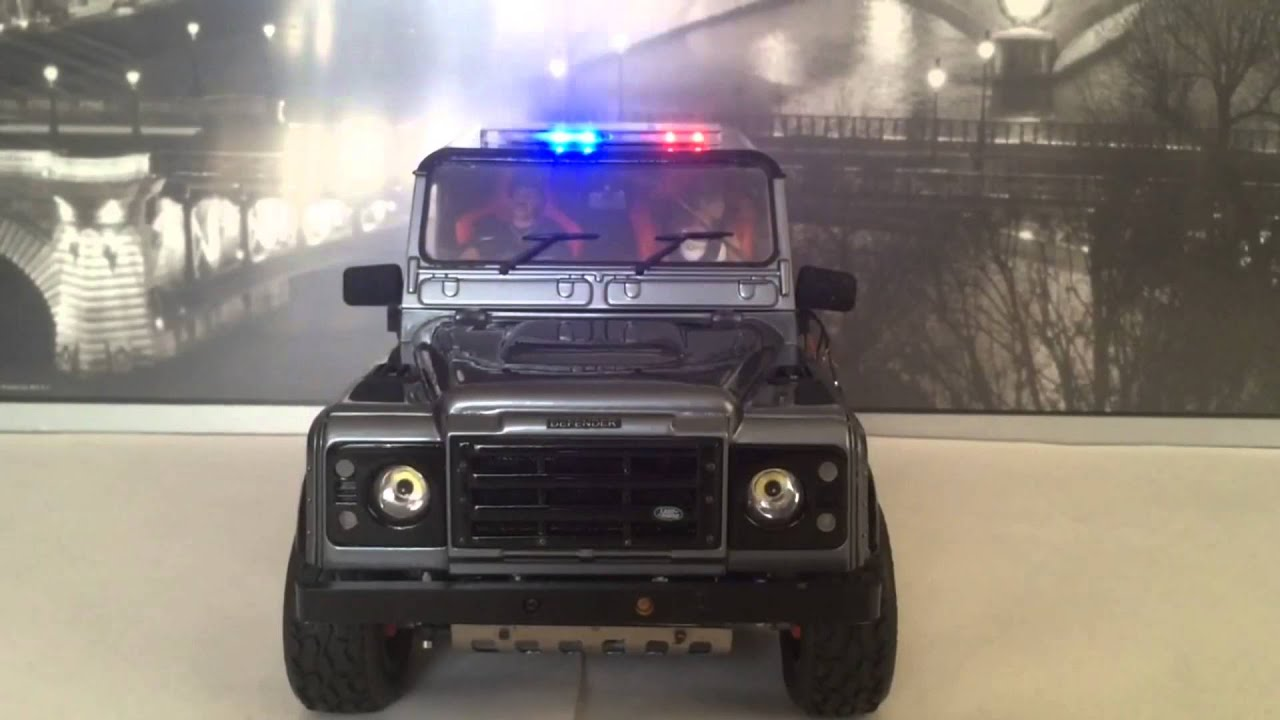 Home Hobby Police Car Lights With Leds