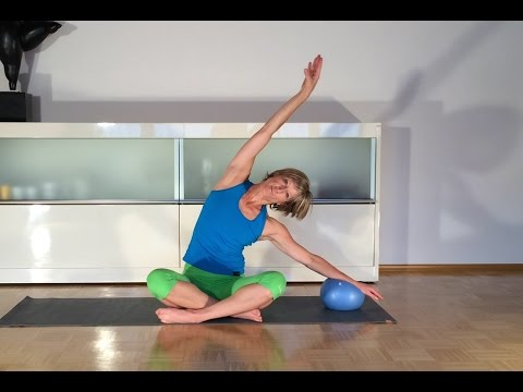 pilates und gymnastik der togu redondo ball funnydog tv. Black Bedroom Furniture Sets. Home Design Ideas
