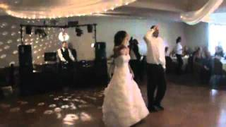 BEST suprise wedding first dance VERRY FUNNY DAVE and HEATHER