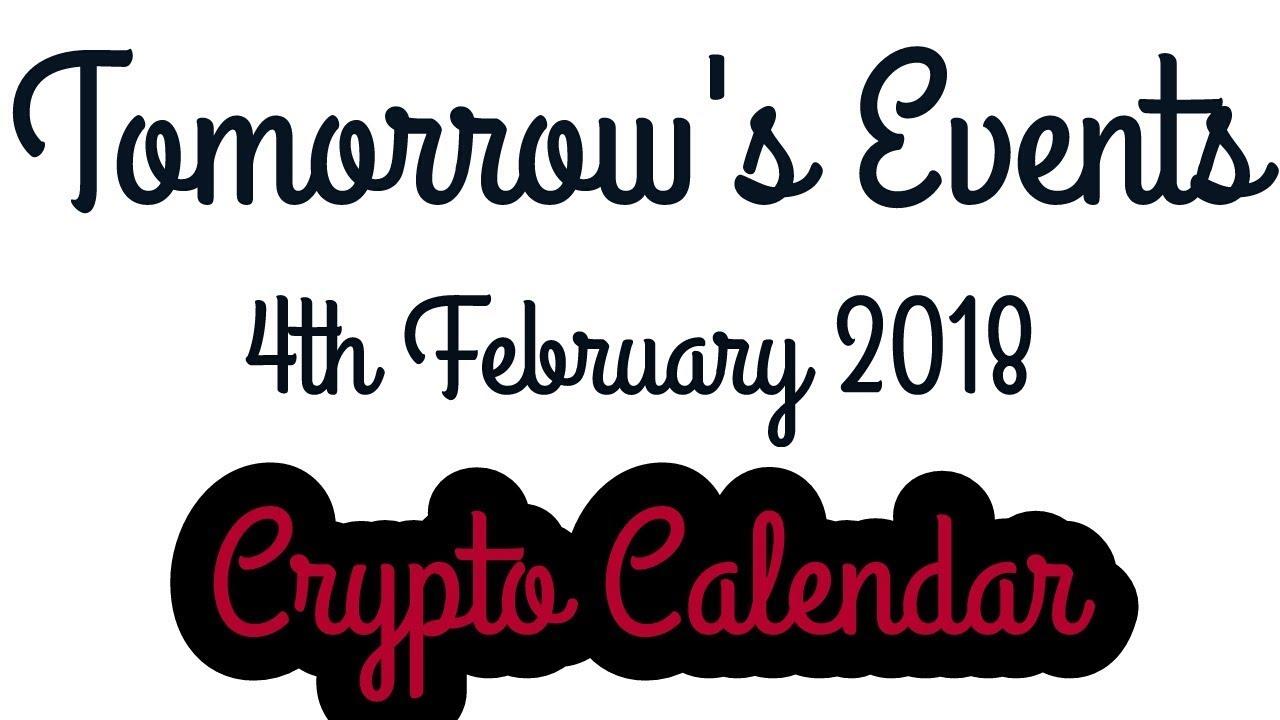 Event Calendar Crypto : Crypto calendar tomorrow s events of th february youtube