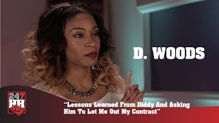 D. Woods - Lessons Learned From Diddy & Asking Him To Let Me Out My Contract (247HH Exclusive)