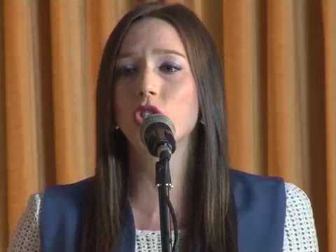 beautiful Serbian girl sing about kosovo Serbian traditional song
