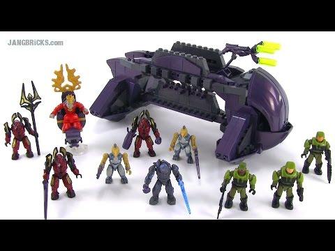 Halo Mega Bloks Alpha Series 10 Micro Action Figures Bl