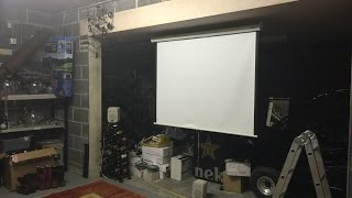 Building the ULTIMATE Gaming DEN: Projector Installation! (Part 1)