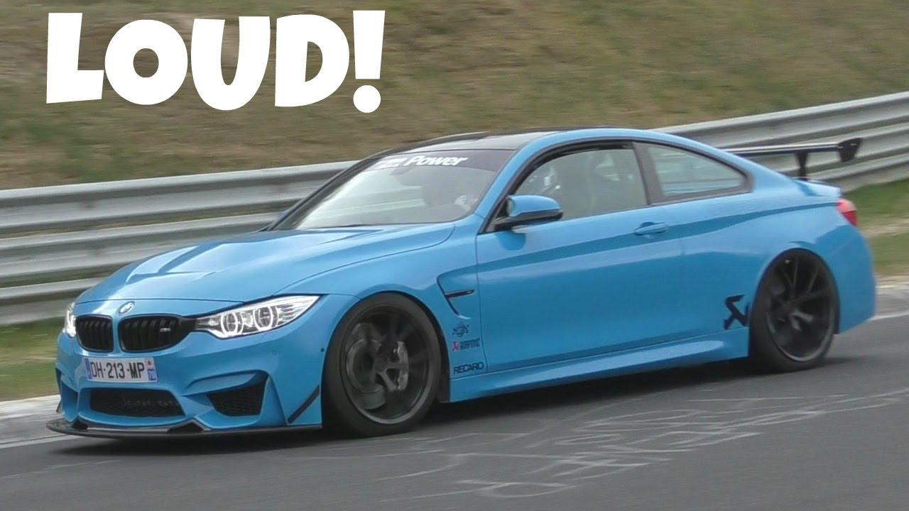 500hp Bmw M4 Clubsport By Dmperformance On The Nürburgring Youtube
