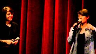 Tegan And Sara - Re: Creeping Out Sara (Get Along Q&A @ TIFF Bell Lightbox, Toronto, Canada.)