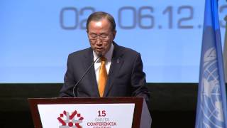 The 15th General Conference of UNIDO - Day 1