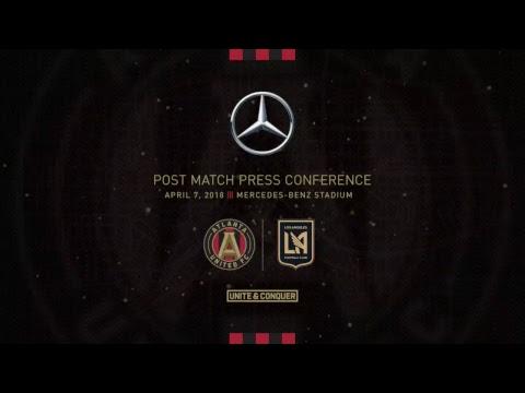 vs LAFC | Post-Match Press Conference