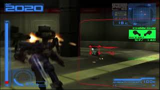 Armored Core 2 Another Age - Merciless vs 2 Ravens