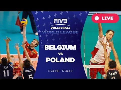 Belgium v Poland - Group 1: 2016 FIVB Volleyball World League
