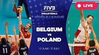 Belgium v Poland - Group 1: 2016 FIVB Volleyball World League(Watch the live stream of the FIVB Volleyball World League 2016 here! About the FIVB Volleyball World League 2016 With 36 teams competing across three ..., 2016-07-03T15:37:13.000Z)