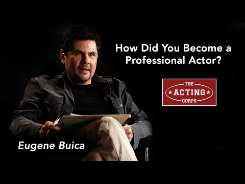 How Did You Become A Professional Actor?