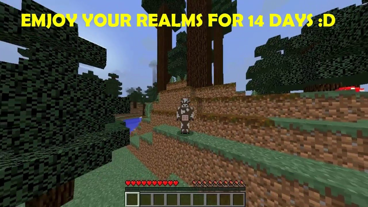 Minecraft realms free
