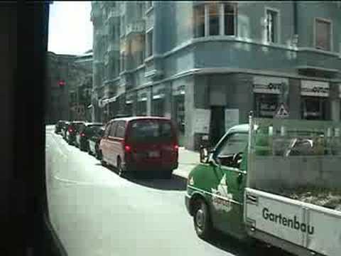 Mit Tram Nr. 5 vom Bürkliplatz zum Bahnhof Enge