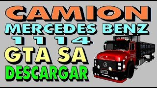 Camion Mercedes Benz 1114 GTA SA Descargar Transporte Pascal Download Argentine Truck