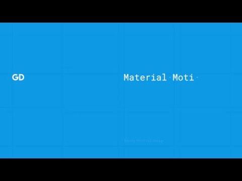 Material Design Motion