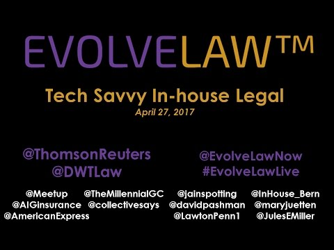 Tech Savvy In-House Legal - NYC - April 27 2017